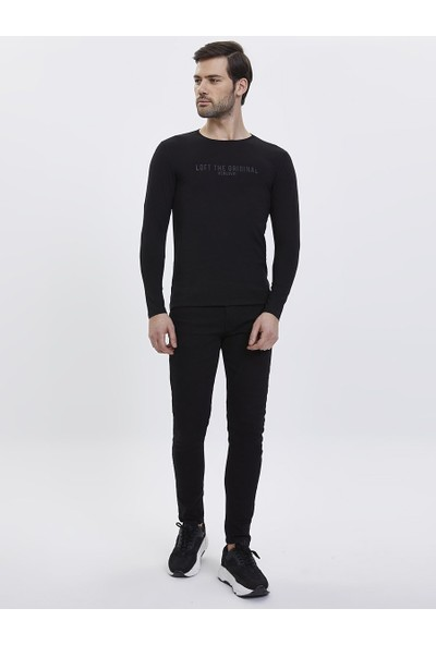 Loft 2023620 Erkek T-Shirt Long Sleeve