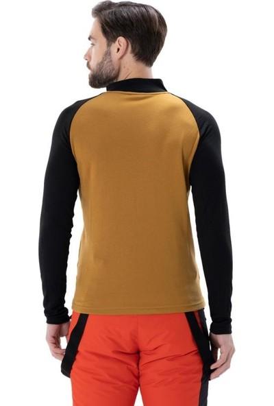 Exuma Zermatt Erkek Kahverengi Termal Tişört