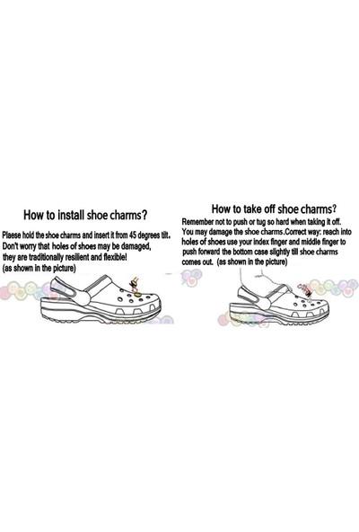 Gnl Crocs Terlik Süsleri Jibbitz 10 Adet