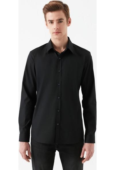 Mavi Erkek Siyah Easy Iron Gömlek 021618-900
