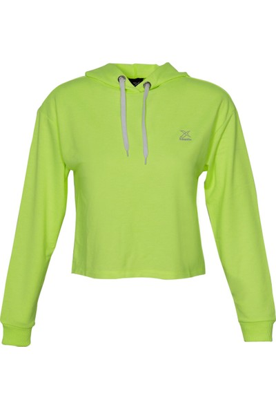 Kinetix W-1590 Hampton SweaT-shirt Neon Yeşil Kadın Sweatshirt
