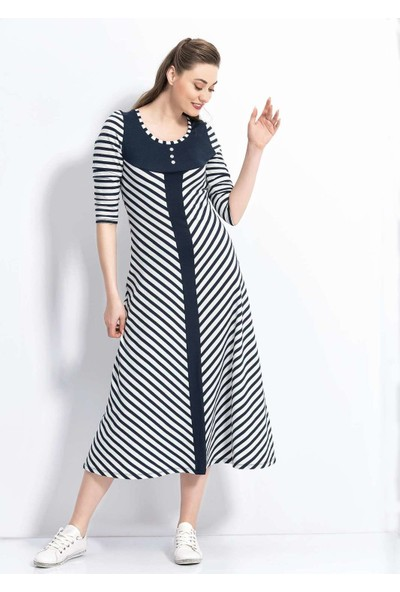 Viperia 4079 Kadın Uzun Kesim Elbise