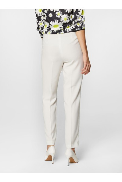 Faik Sönmez Kadın Normal Bel Bilek Boy Slim Fit Pantolon 60052