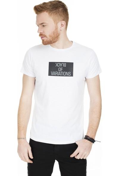 Buratti Erkek Baskılı Bisiklet Yaka T-Shirt