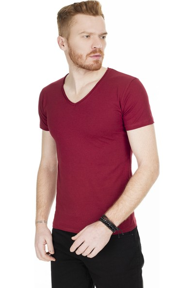 Buratti Erkek V Yaka T-Shirt