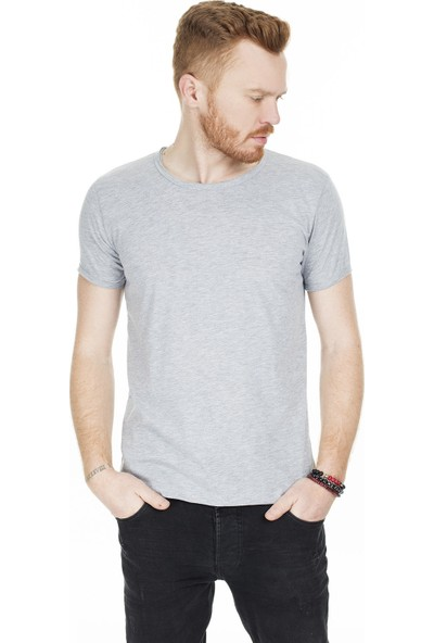 Buratti Erkek Bisiklet Yaka T-Shirt