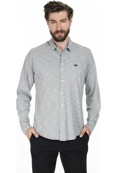 Dockers Erkek Düz Yaka Gömlek