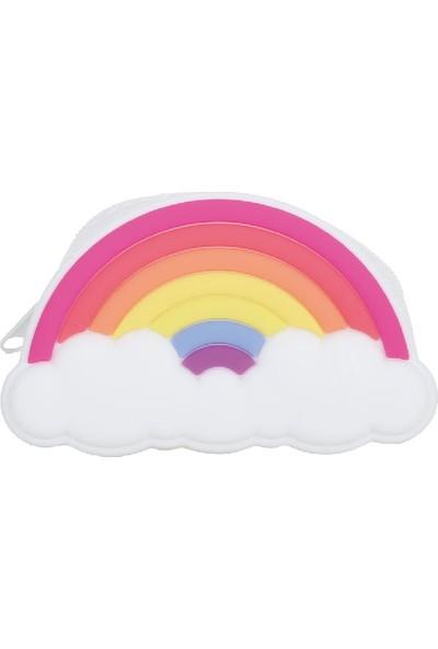Pyrus Gökkuşağı Silikon Mini Cüzdan