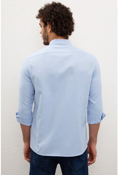 U.S. Polo Assn. Erkek Dokuma Gömlek 50201622-VR003
