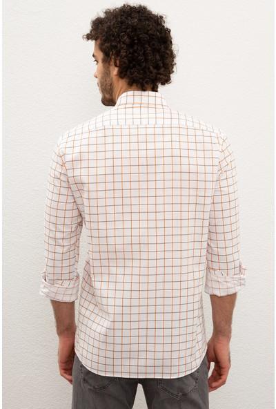 U.S. Polo Assn. Erkek Dokuma Gömlek 50218461-VR051