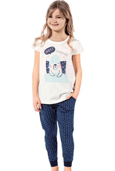 Özkan Underwear 42506 Kız Çocuk Pijama Takımı
