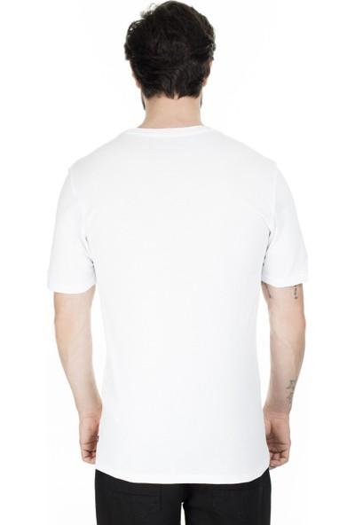 Levi's Erkek Baskılı Bisiklet Yaka T-Shirt