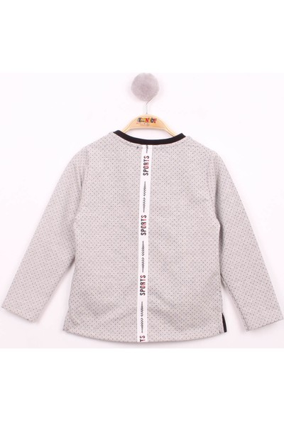 Toontoy Erkek Çocuk Cep Üstü Şeritli T-Shirt