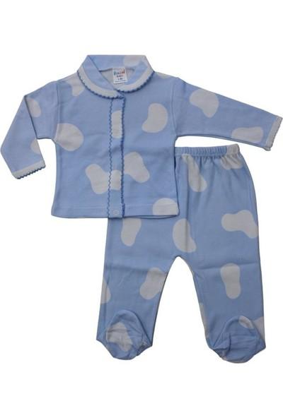 Baby World Bulutlu Pijama Takımı 0 - 3 Ay