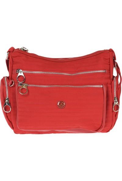 Smart Bag Kadın Bel Çantası 2022-3007-0019 Kırmızı