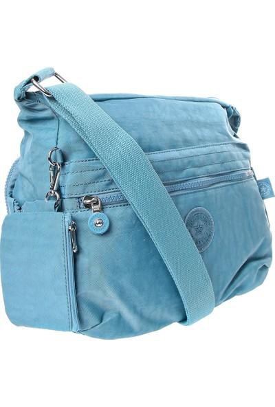 Smart Bag Kadın Kipling Çanta 2022-1056-0050 Buz Mavi