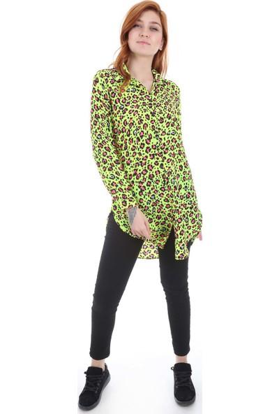 Bigdart 5704 Neon Günlük Kadın Tunik