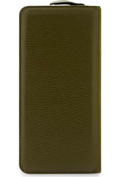 Vianel New York Lucca Deri Yeşil Kadın Cüzdanı