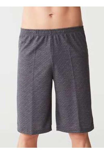 Mod Collection 3258 Üçlü Erkek Pijama Takımı - Lacivert