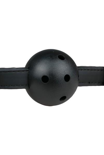 Easytoys Fetish Collection Ağız Topu Siyah Fetiş