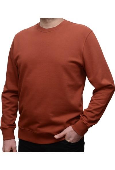 Fiume The Men's Store Erkek Sweatshirt %100 Pamuk Comfort Kalıp