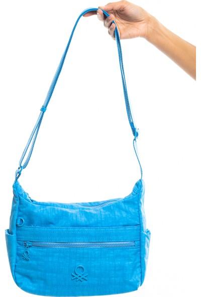 Benetton Kadın Çapraz Çanta Mavi BNT221