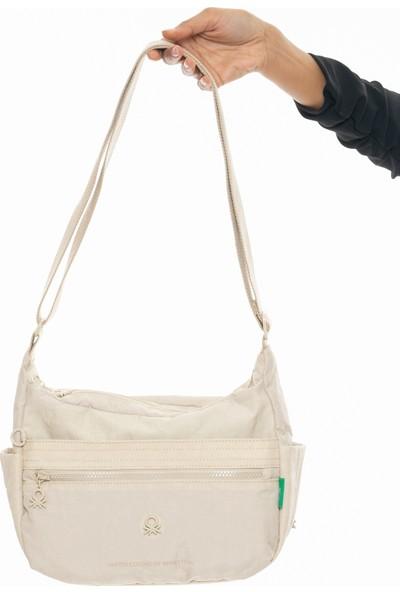 Benetton Kadın Çapraz Çanta Bej BNT221