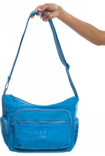 Benetton Kadın Çapraz Çanta Mavi BNT223