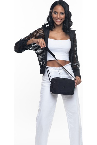 Benetton Kadın Çapraz Çanta Siyah BNT224