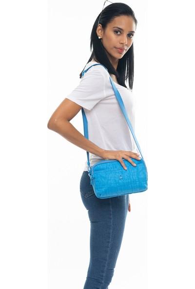 Benetton Kadın Çapraz Çanta Mavi BNT224