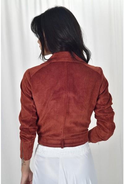 The Most Fashion Kadife Ceket L