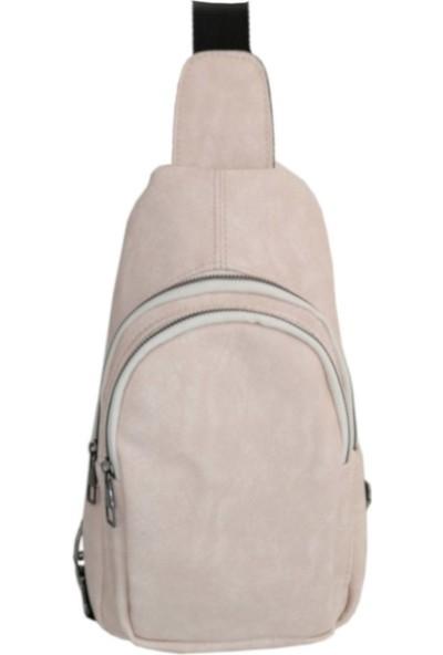 Rodinn Bag Krem Body Bag Kadın Çantası