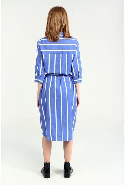 Collezione Kadın Buz Mavisi Elbise