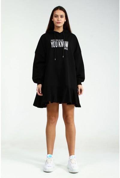 Collezione Kadın Siyah Elbise