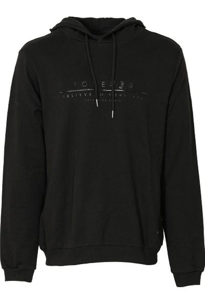 Lumberjack M-1561 Mosley Sweatshirt Siyah Erkek Sweatshirt