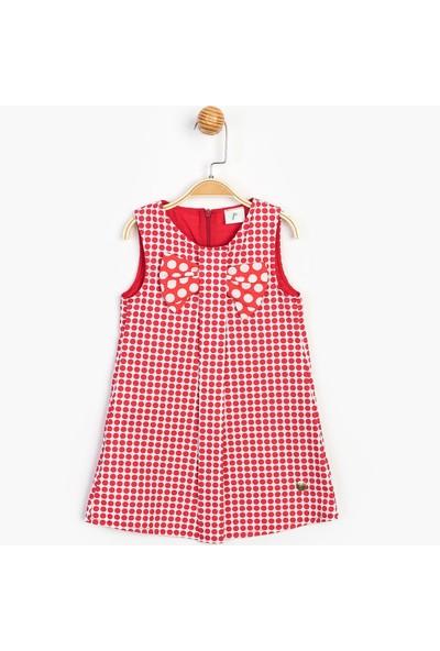 Panolino Fiyonklu Çocuk Elbise 15409