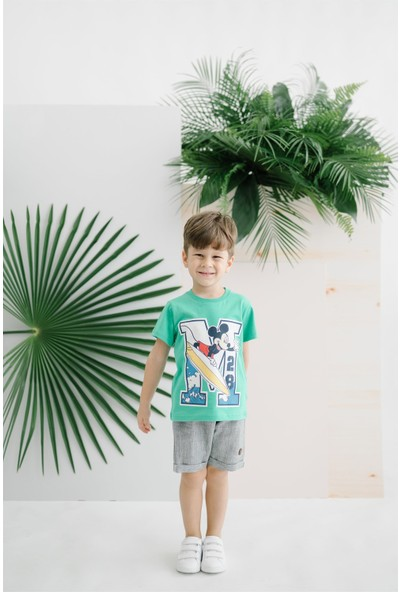 Disney Mickey Çocuk Tişört 15466