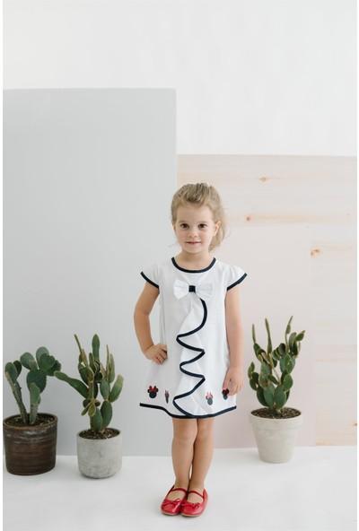Disney Fiyonklu Çocuk Elbise 15510