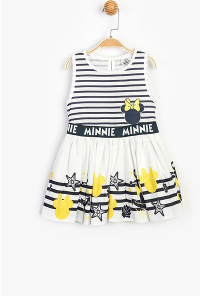 Disney Minnie Çocuk Elbise 15519