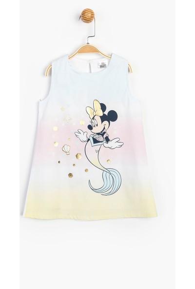 Disney Minnie Çocuk Elbise 15537