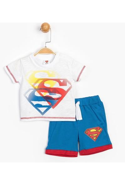 Superman Bebek Şortlu Takım 15556