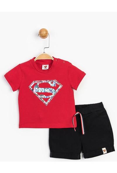 Superman Bebek Şortlu Takım 15557