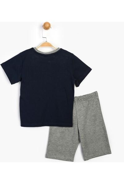 Pijamaskeli Çocuk Şortlu Takım 15560