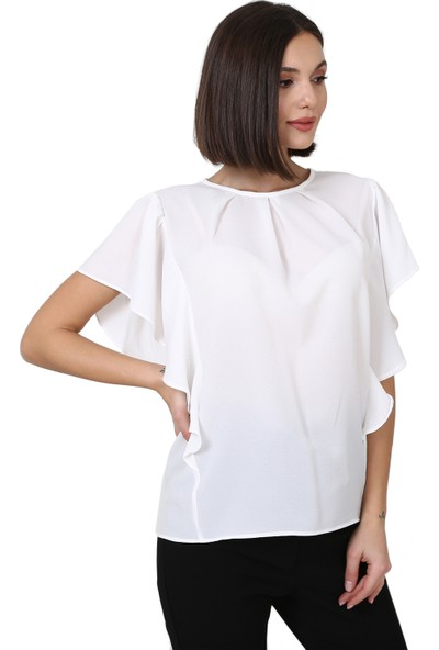 Avver Kol Detaylı Bluz