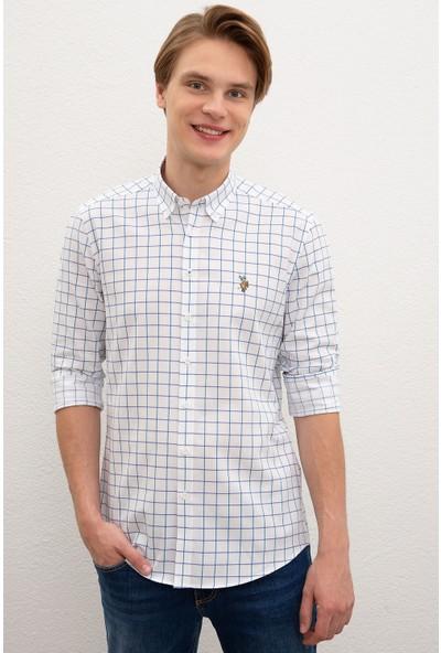 U.S. Polo Assn. Erkek Dokuma Gömlek 50218461-VR077