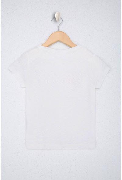 U.S. Polo Assn. Kız Çocuk T-Shirt 50218962-VR184