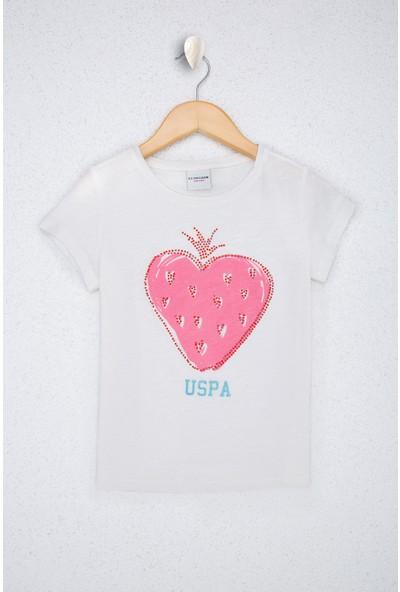 U.S. Polo Assn. Kız Çocuk T-Shirt 50218973-VR184
