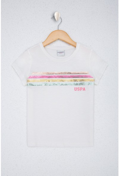 U.S. Polo Assn. Kız Çocuk T-Shirt 50220362-VR184