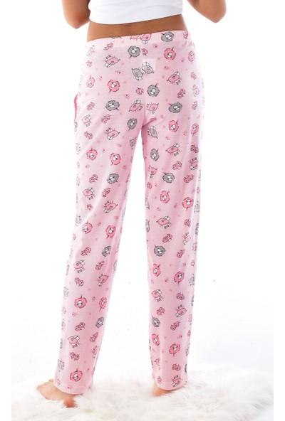 Arkan Kadın 420 Desenli Alt Pijama Pembe