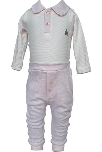 Tomuycuk Bebek 2'li Pijama Takımı 100% Pamuklu Kumaş